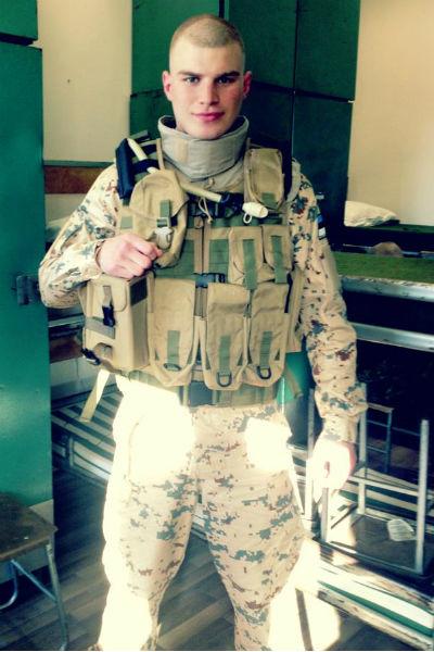 25-летний Владимир Любимцев уже отслужил в эстонской армии