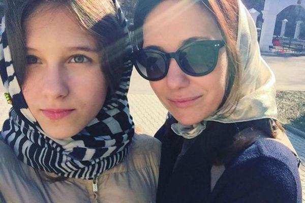 Екатерина с дочерью Елизаветой
