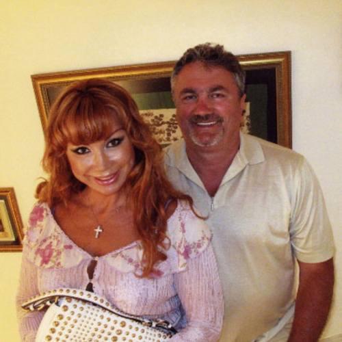 Маша Распутина со своим вторым мужем Виктором Захаровым
