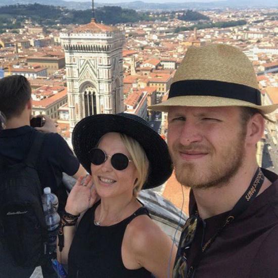 Этим летом Пелагея и ее муж Иван Телегин отдыхали в Италии