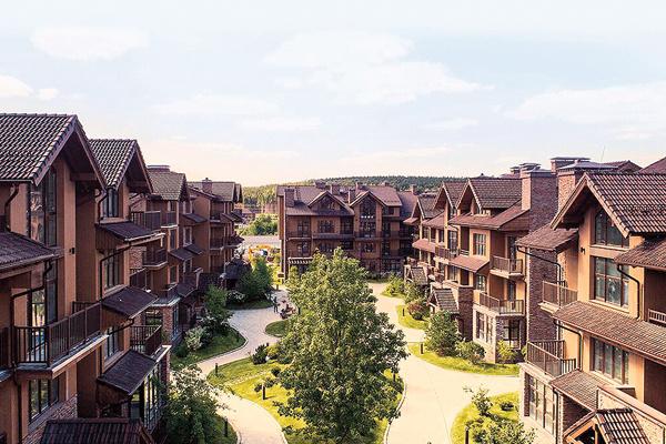 Стоимость квартир в загородном поселке – от 5 до 14 млн рублей
