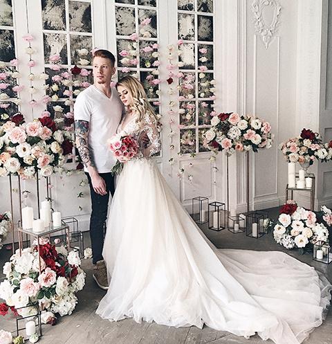 Вскоре после помолвки Никита и Алена устроили романтическую фотосессию