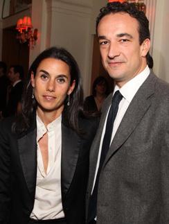 Оливье Саркози с первой женой Шарлоттой Саркози