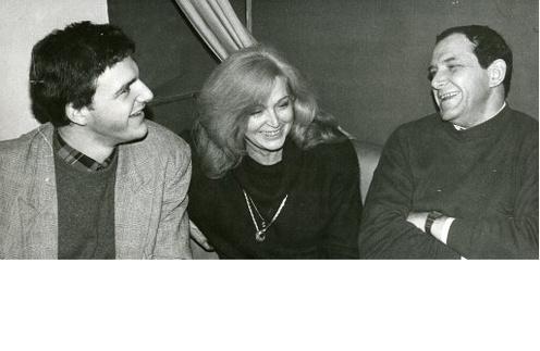 Молодой Максим с родителями - Аллой Балтер и Эммануилом Виторганом