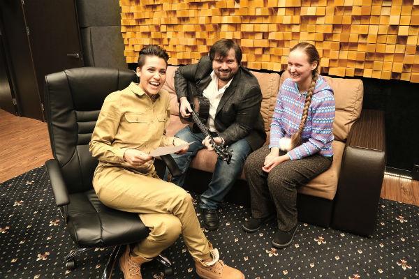 Вместе с нашей читательницей музыканты из Продюсерского центра Григория Лепса отлично Провели время