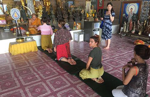 Ксения Бородина в Таиланде