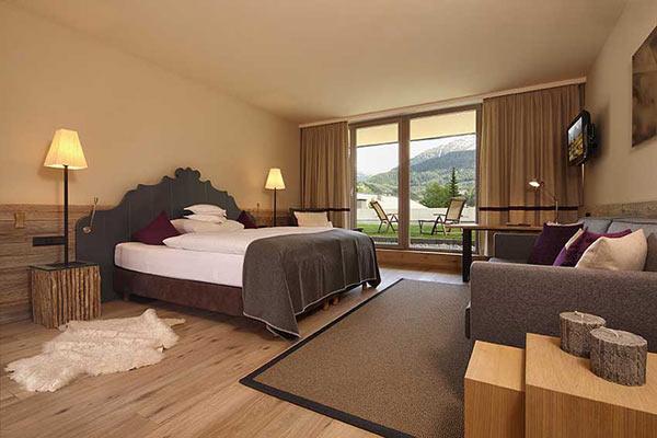 Номер с панорамным видом в отеле Bergland