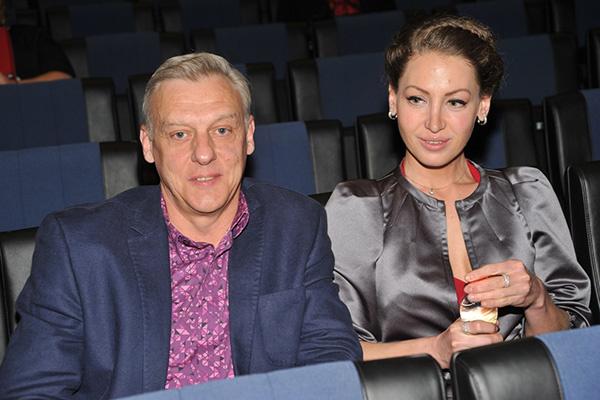Александр Половцев и его супруга Эсана
