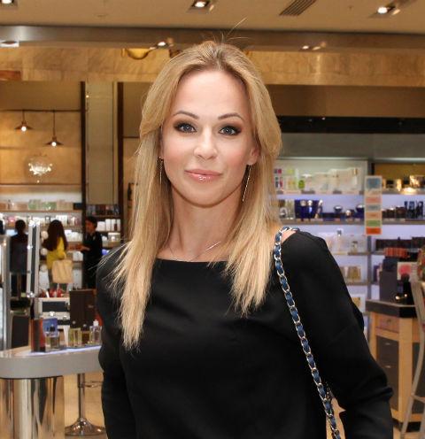 Ирина Медведева родила сына