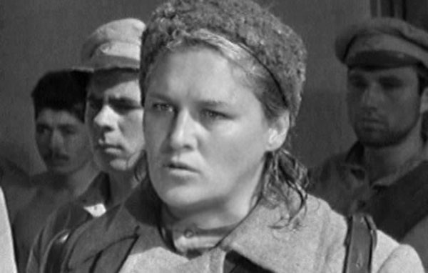 Главную роль в картине «Комиссар» (1967) сыграла Нонна Мордюкова