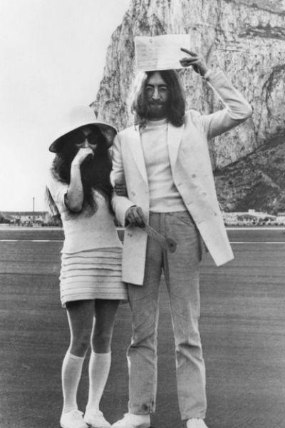 Джон Леннон и Йоко Оно поженились 20 марта 1969 года