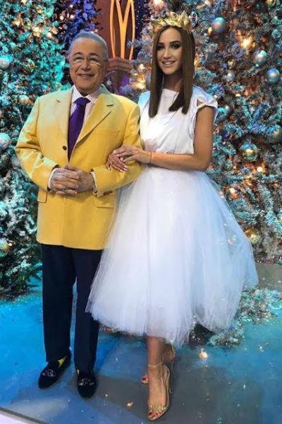 Евгений Петросян и Ольга Бузова выступят вместе в новогоднюю ночь
