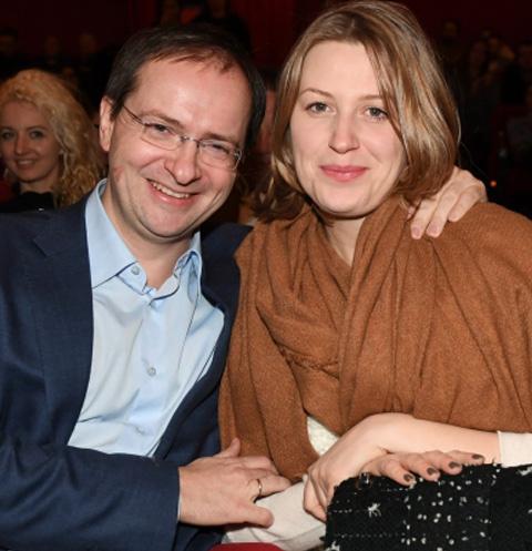 Владимир Мединский с женой Мариной