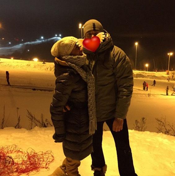 Ксения Бородина с новым возлюбленным по имени Z.