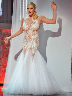Анастасия Волочкова на шоу «Две звезды»