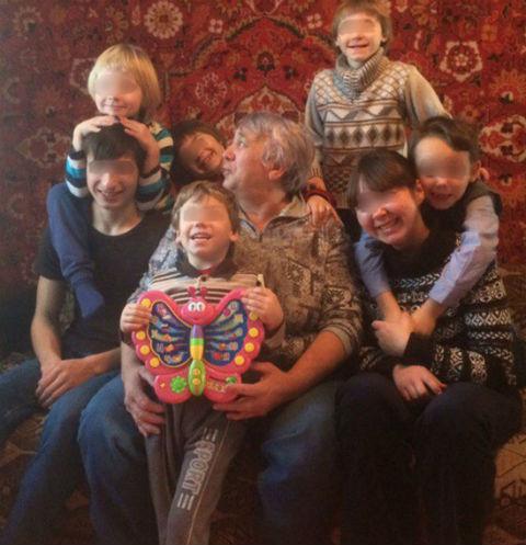 Любовь вырастила 21 ребенка