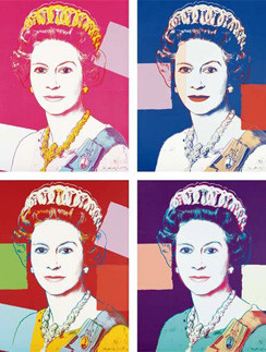 Энди Уорхол хотел быть таким же знаменитым, как королева Британии