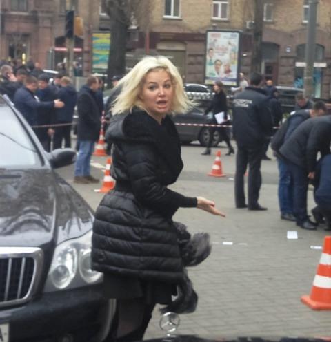 Мария Максакова приехала и упала в обморок