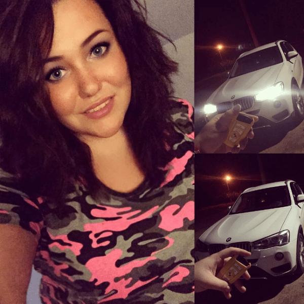 Дана выбрала себе новую машину