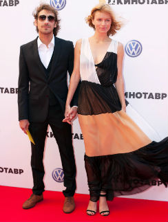 Артем Ткаченко с супругой Евгенией