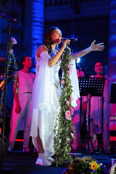 Концерт певицы состоялся в минувшую пятницу