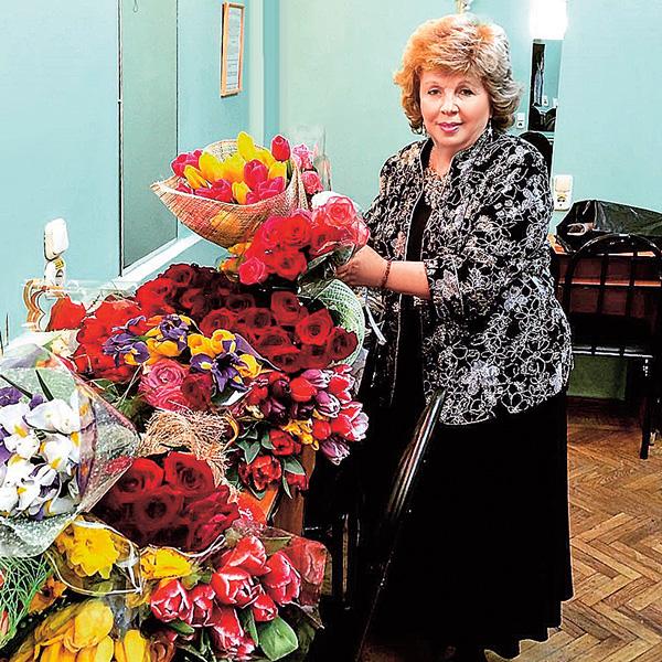 «После концерта в Краснодаре», – отчиталась перед подписчиками Рубальская
