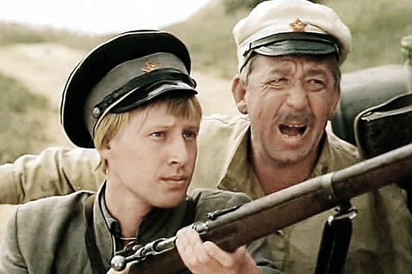Дмитрий Харатьян с Бориславом Брондуковым