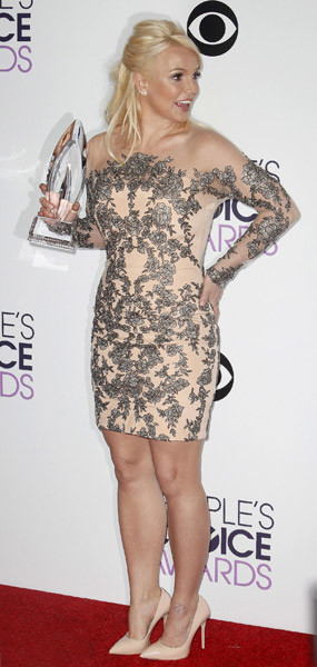 Бритни Спирс в мае 2014 года
