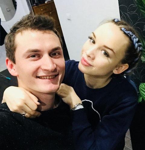 Андрей Шлянин и Диана Шурыгина