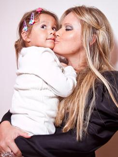 Дана Борисова с дочерью Полиной