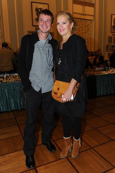 Мария Порошина с супругом Ильей Древновым