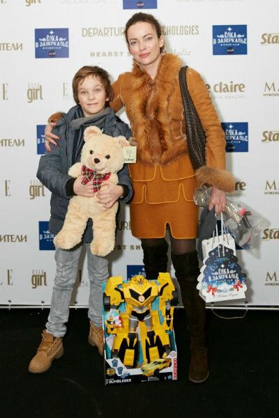 Ольга Зайцева с сыном