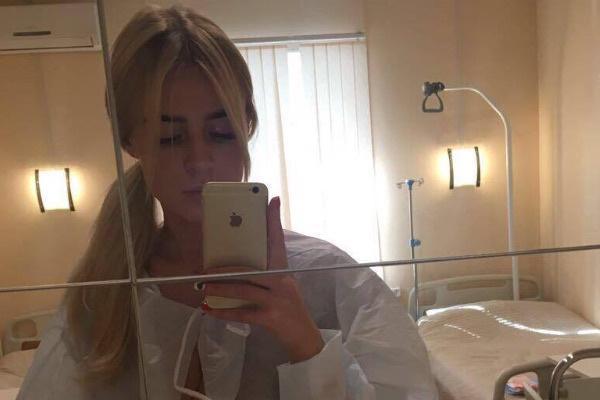 Кристина Лясковец незадолго до операции