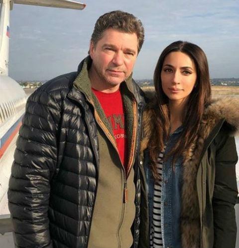 Певица Зара с актером Сергеем Маховиковым