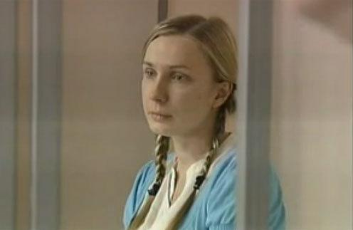 Анастасия Дашко в суде