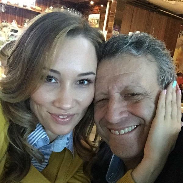 Борис с возлюбленной Екатериной Белоцерковской