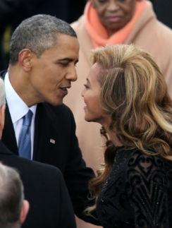 Барак Обама и Бейонсе
