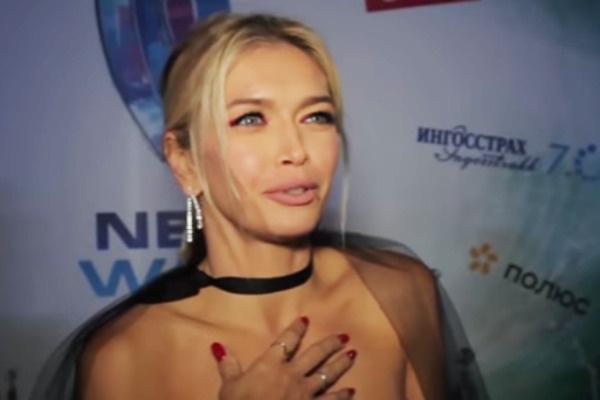 Вера Брежнева на творческом вечере Филиппа Киркорова