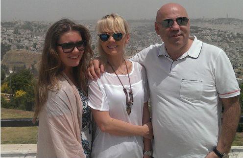 Иосиф Пригожин, Валерия и их дочь Анна Шульгина в Израиле