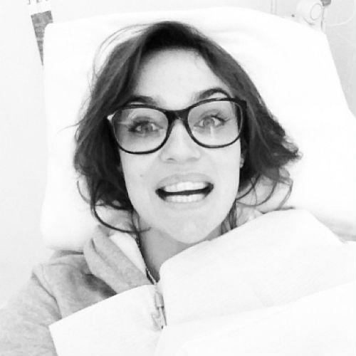 Алена в стоматологической клинике