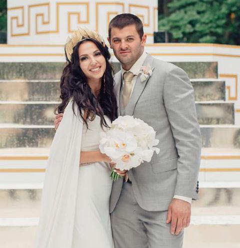 Дарья Дмитриева с бывшим мужем Александром Радуловым