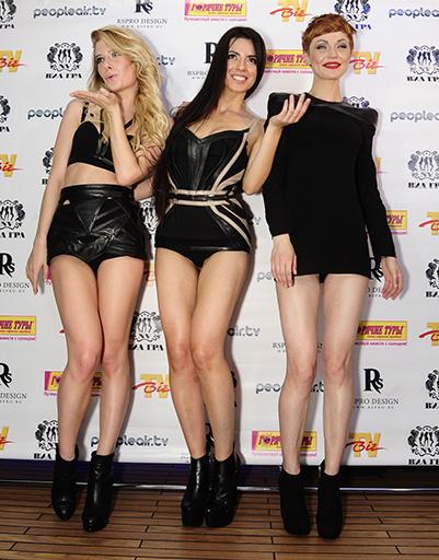 Слева направо: Дарья Медова, Дарья Ростова и Айна Вильбер