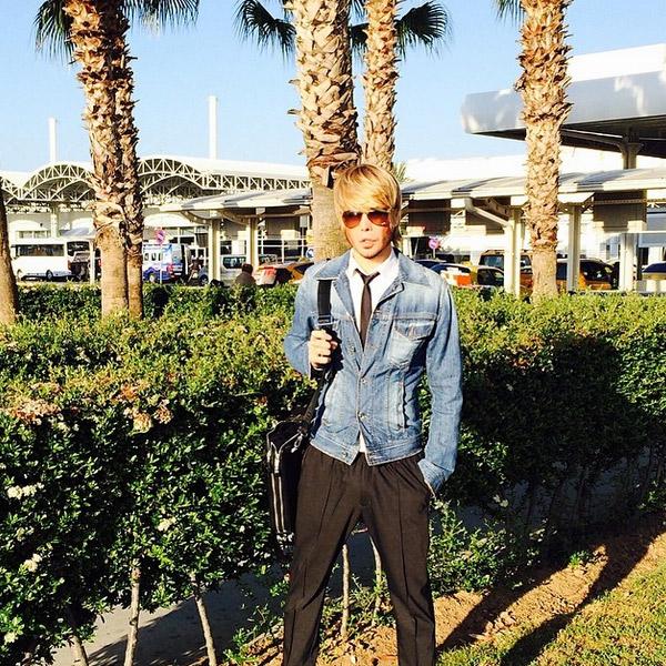 Сергей Зверев приехал на отдых в Турцию