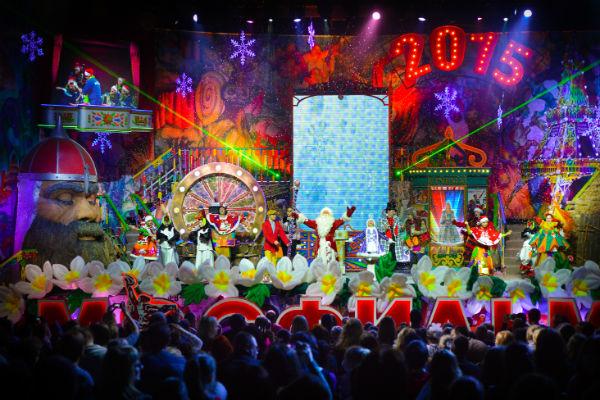 Уже с 25 декабря дети и их родители смогут побывать в легендарных павильонах «Мосфильма»