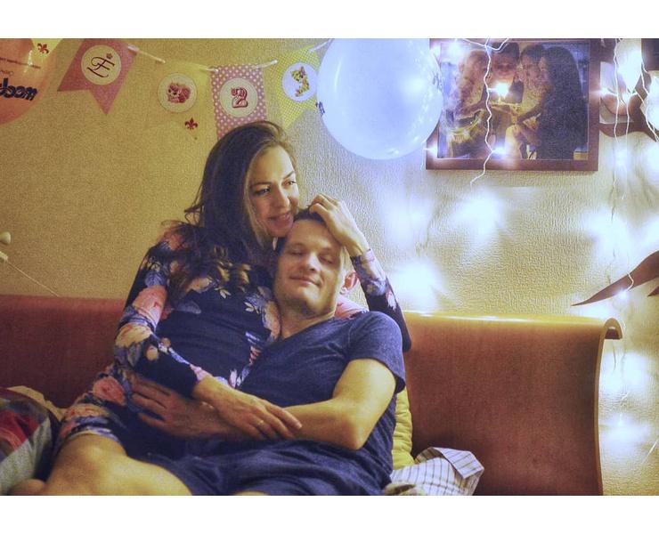 Мария с мужем Михаилом