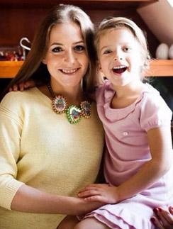 Юлия с дочерью Яной