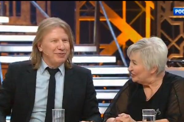Виктор Дробыш с мамой