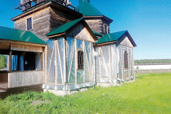 Священник надеется, что ему помогут достроить храм Преподобного Сергия Радонежского