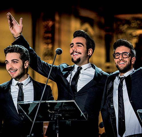 Итальянское оперное поп-трио IL VOLO