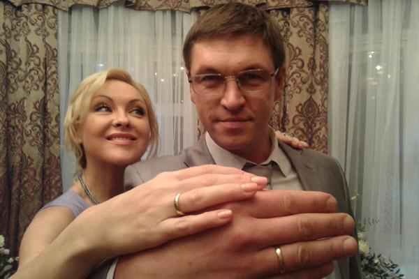День свадьбы стал для персонажей Ксении и Дмитрия очень счастливым